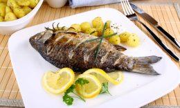 peixe com alecrim